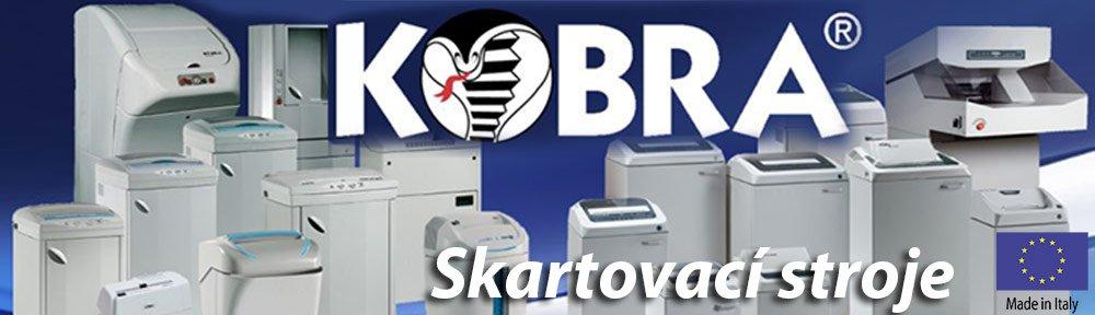 Kvalitní stroje z Itálie skartovače Kobra