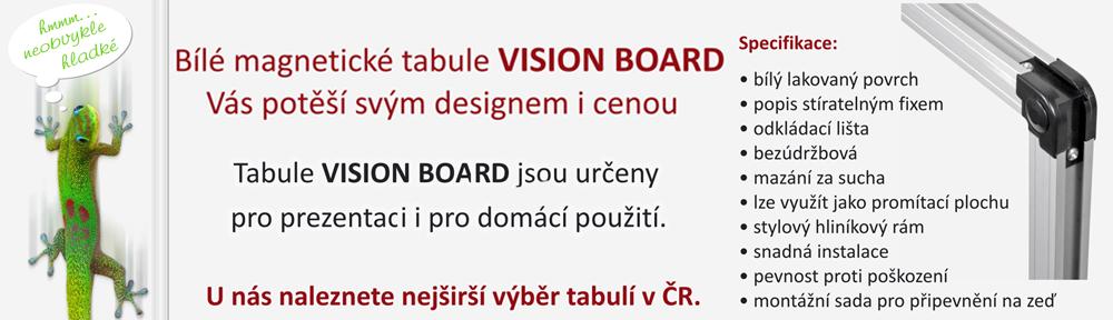Tabule VisionBoard pro prezentaci