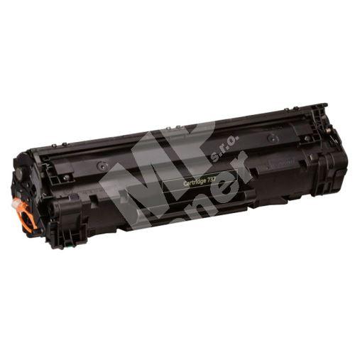 Toner Canon CRG-737, 9435B002, black, MP print 2