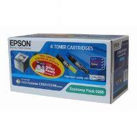 Toner Epson C13S050268, AcuLaser C1100, CX11, CMY sada, originál