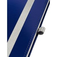Zápisník Leitz STYLE A6, tvrdé desky, linkovaný, titanově modrý 6