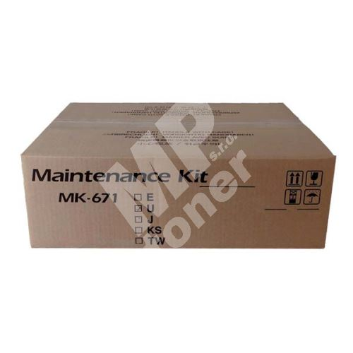 Maintenance kit Kyocera MK671, 1702K58NL0, originál 1