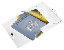 Desky s gumičkou Wow Jumbo, bílá, 30 mm, PP, A4, LEITZ 3