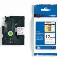 Páska do štítkovače Brother TZe-N231 12mm černý tisk/bílý podklad