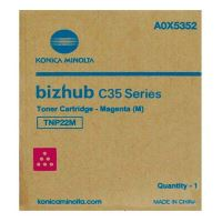 Toner Konica Minolta TNP-22M Bizhub C35P, magenta, A0X5352, originál