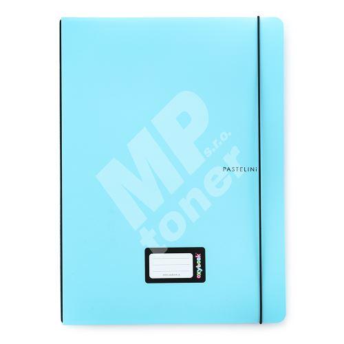 Sešit Oxybook A4 Pastelini, modrá 1