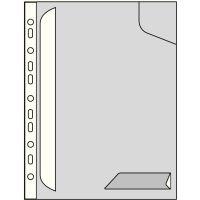 Pevné závěsné desky Leitz CombiFile A4, čiré 2