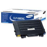 Toner Samsung CLP 500, N, 550, N, modrý, CLP-500D5C, originál
