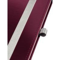 Zápisník Leitz STYLE A5, tvrdé desky, čtverečkovaný, granátově červený 5