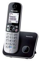 Bezšňůrový telefon Panasonic KX-TG6811FXB, černý