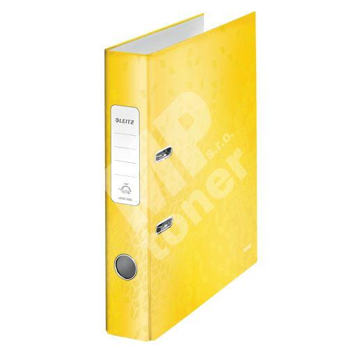 Pákový pořadač 180 Wow, žlutá, 52 mm, A4, PP/karton, LEITZ 1