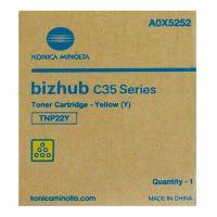 Toner Konica Minolta TNP-22Y Bizhub C35P, yellow, A0X5252, originál