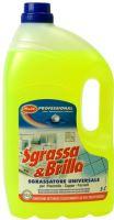 Sgrassa & Brilla odmašťovač čistič kuchyně odstraní i mastnotu z motorů 5 l