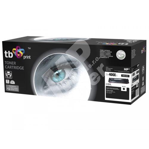 TB toner kompatibilní s HP CF400X, CLJM252/277, BK, 2800, new 1