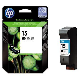 Cartridge HP 6615DE No. 15, black, originál 1