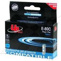 Kompatibilní cartridge Epson T080240, R625, RX560, R360, cyan, UPrint