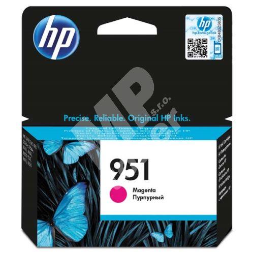 Cartridge HP CN051AE, magenta, No.951, originál 1