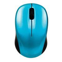 Myš Verbatim bezdrátová, 1 kolečko, USB, modrá, 1600dpi