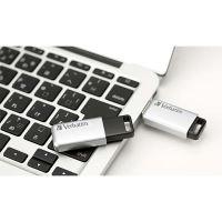 Verbatim 16GB Store n Go Secure Pro, USB flash disk 3.0, 98664, stříbrná 3