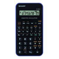 Kalkulačka Sharp EL-501XVL, černo-fialová, vědecká