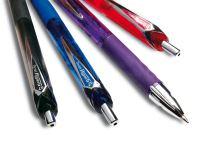 Pentel KL257 Hyper G kuličkové pero, fialová 3