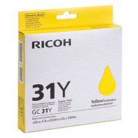 Inkoustová cartridge Ricoh 405691, GXe2600, 3000N, 3300N, 3350N, yellow, originál