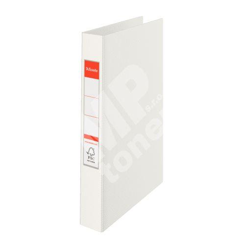 Čtyřkroužkový pořadač Esselte, 35 mm, bílý 1