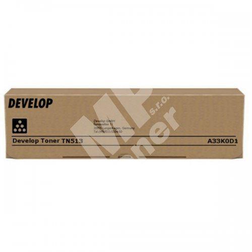 Toner Develop TN-513, black, A33K0D1, originál 1