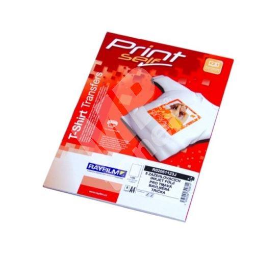 Zažehlovací papíry Rayfilm R0205.1123J, bílá trička 1bal/5ks, pro inkoustové tiskárny 1
