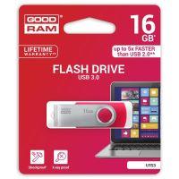 16GB Goodram UTS3, USB flash disk 3.0, červená
