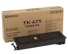 Toner Kyocera TK-675, KM-2540, 2560, 3060, černý, originál