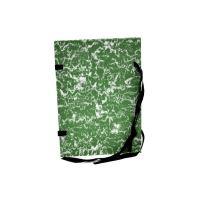 Spisová deska A4 zelený, mramor