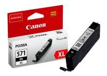 Cartridge Canon CLI-571BK XL, 0331C001, black, originál 1