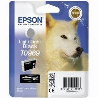 Inkoustová cartridge Epson C13T09694010, Stylus Photo R2880, světle světle černá, 1*13ml o