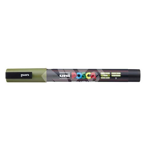 Uni Posca PC-3M akrylový popisovač, 0,9-1,3 mm, khaki zelený 1