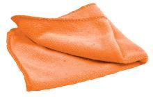 Čistící utěrka z mikrovlákna, oranžová, NOBO 2