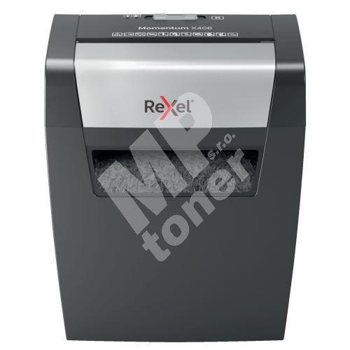 Skartovačka Rexel Momentum X406, 4x28mm 1