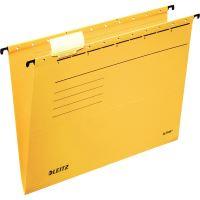 "Závěsné desky Leitz ALPHA typu ""V"", žluté 2"