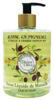 Jeanne en Provence Tekuté mýdlo - Oliva, 500ml