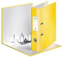 Pákový pořadač 180 Wow, žlutá, lesklý, 80 mm, A4, PP/karton, LEITZ 3