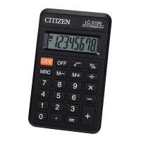 Kalkulačka Citizen LC310NR, černá, kapesní, osmimístná