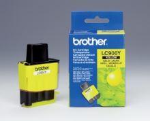 Inkoustová cartridge Brother LC-900Y DCP-110C, MFC-210C, 410C, 1840C, žlutá, originál