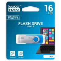 16GB Goodram UTS2, USB flash disk 2.0, modrá
