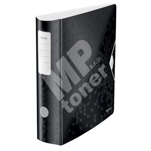 Pákový pořadač 180° Active Wow, černá, 82 mm, A4, PP, LEITZ 1