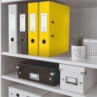 Pákový pořadač 180 Wow, žlutá, lesklý, 80 mm, A4, PP/karton, LEITZ 2