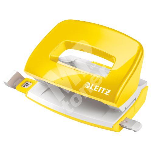 Miniděrovač Leitz NeXXt 5060, 10 listů, metalický žlutý 1