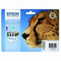 Cartridge Epson C13T07154012, C+M+Y+BK, originál 4
