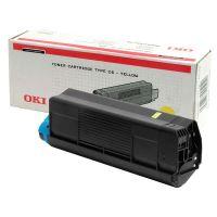Toner OKI 42127405 C5100 5200 5300 5400 typ C6 žlutý originál