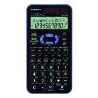 Kalkulačka Sharp EL-520XVL, černo-fialová, vědecká