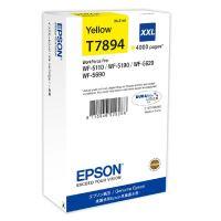 Inkoustová cartridge Epson C13T789440, WF-5620DWF, WF-5110DW, XXL, yellow, originál